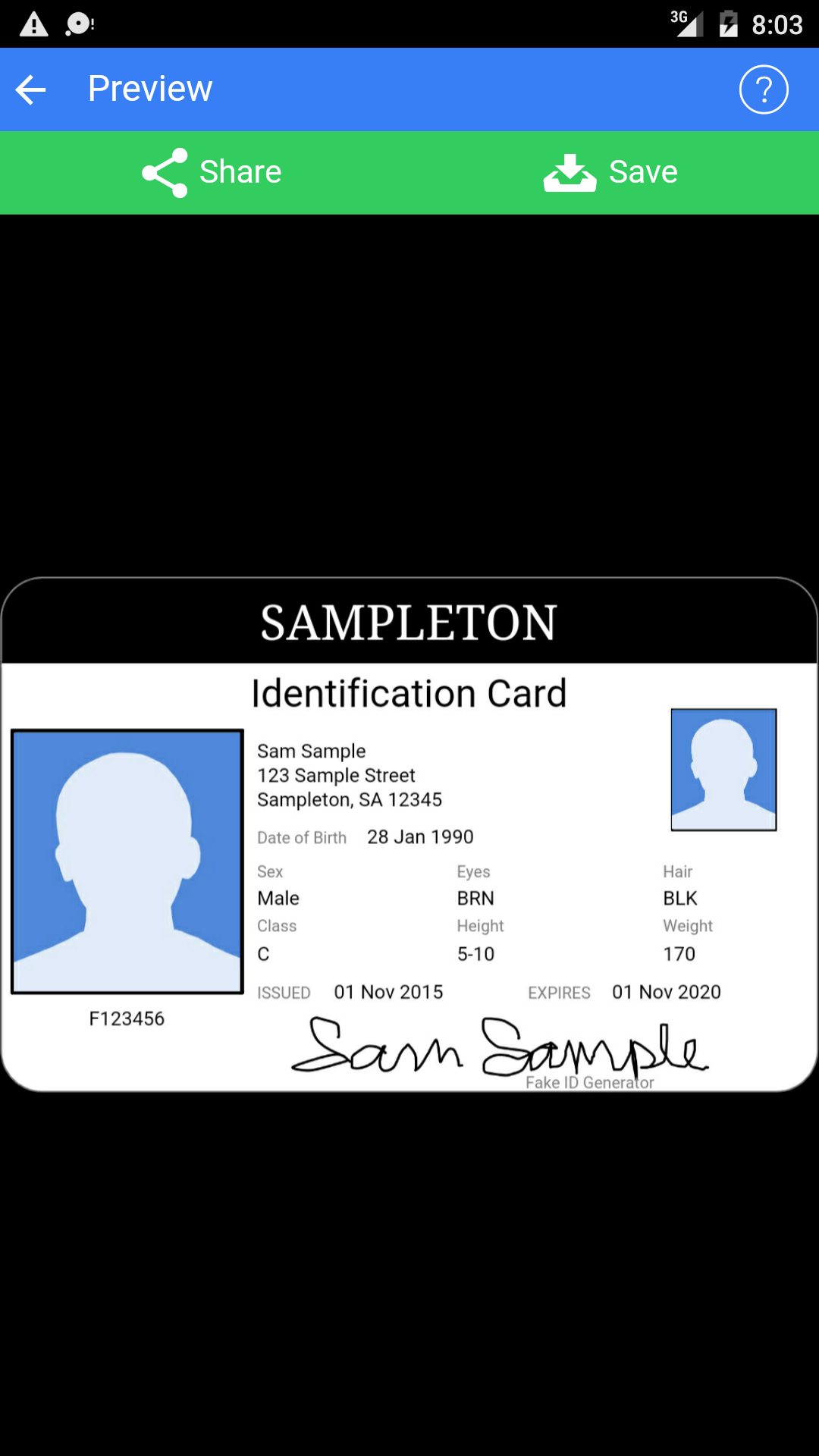 photograph relating to Printable Fake Ids titled False Identity Generator