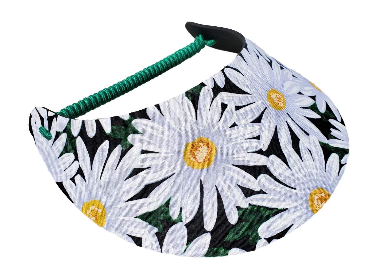 The Incredible Sunvisor Flower Patterns Perfect for Summer! Made in The USA!!