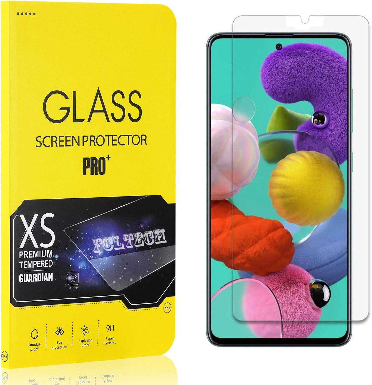 FCLTech Displayschutzfolie f/ür Galaxy A71 1 St/ück HD Displayschutzfolie 9H H/ärte Schutzfolie Panzerglasfolie 3D Full Screen Protector f/ür Samsung Galaxy A71