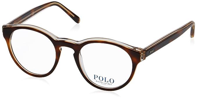 caf6243450 Polo Ralph Lauren Lunettes de Vue PH 2175 HAVANA CRYSTAL homme ...