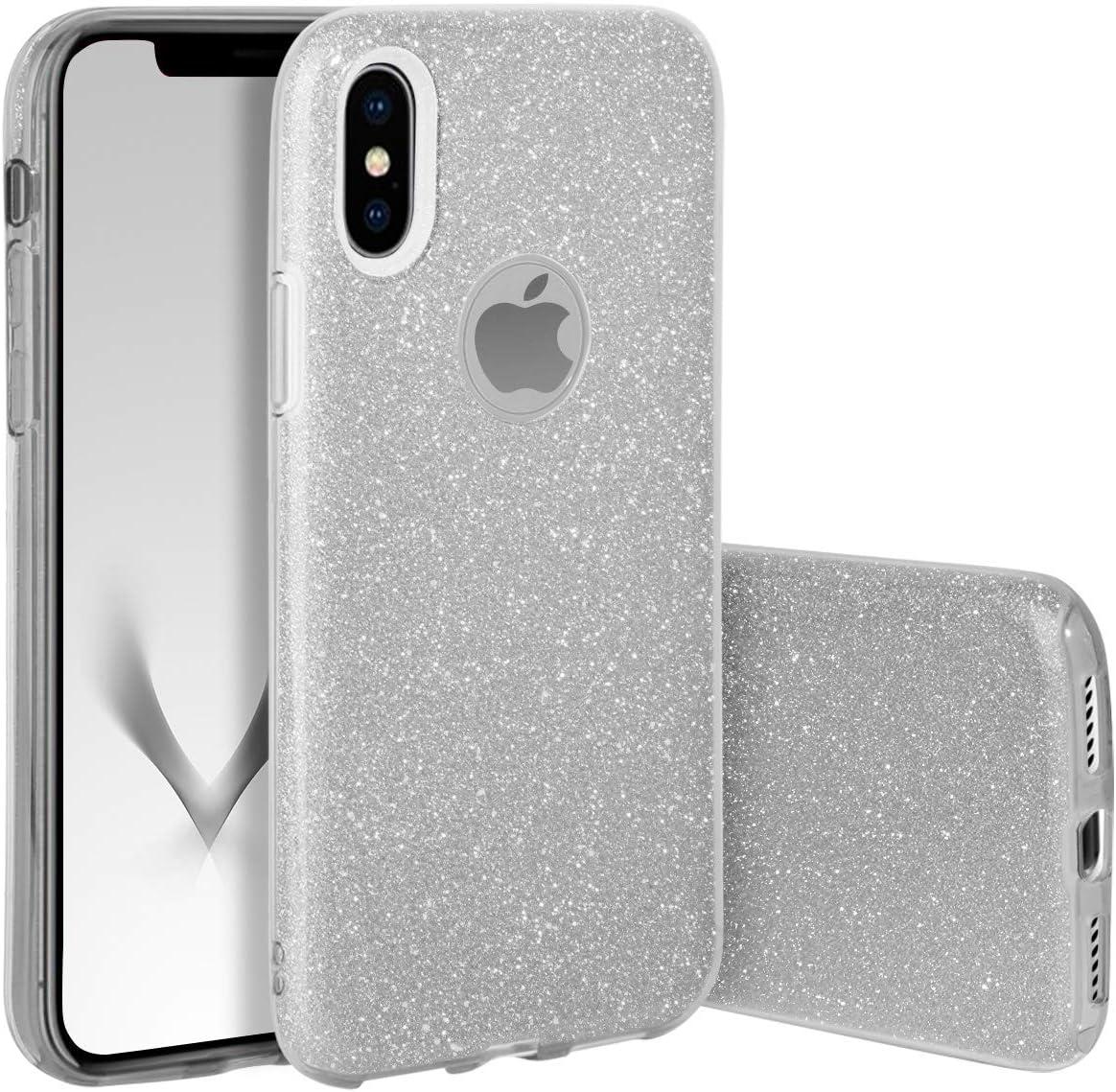 YSIMEE Compatible con Fundas iPhone XR EstuchesTransparente