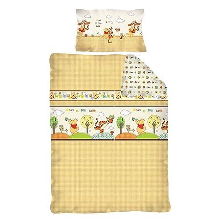 Parure de lit Winnie l\'ourson 100x135: Amazon.co.uk: Kitchen & Home