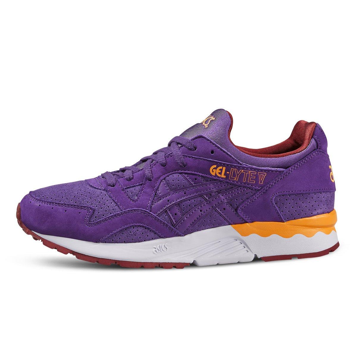 948b4a771fde ASICS Unisex Adults  H5u4y 0113 Tiger Gel-Lyte V White Light Grey Purple  Size  8.5 UK  Amazon.co.uk  Shoes   Bags