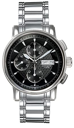 Belair Swiss Made Automatic 10 ATM Mens Black Dial Watch