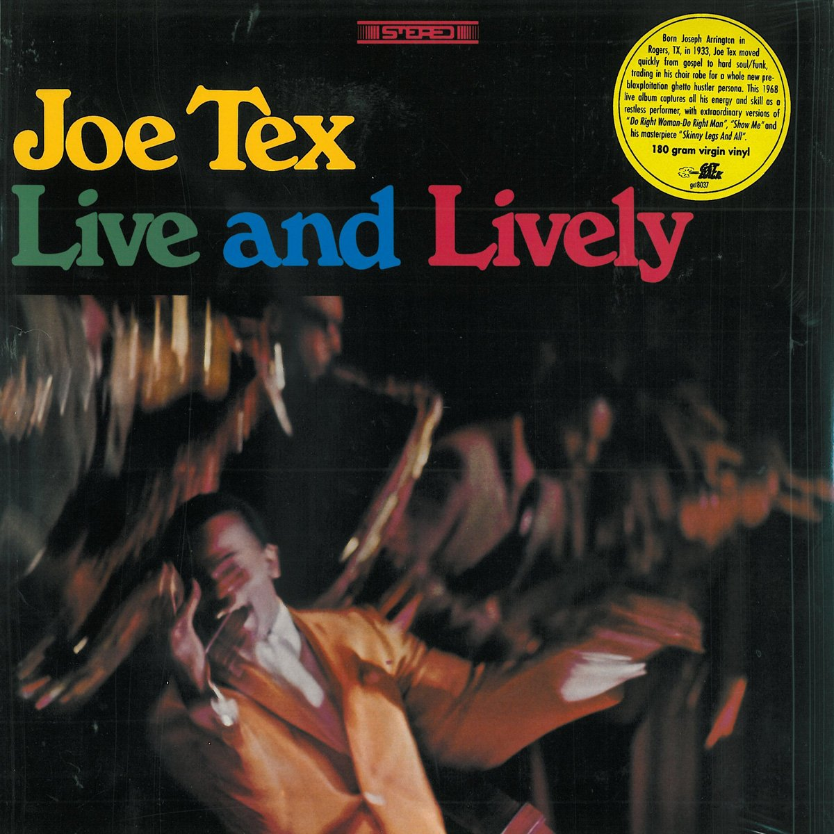 Joe Tex: Live and Lively, 1968 by Atlantic