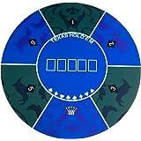 unhg Portable Rubber Foam Poker Table Top Layout Poker Mat