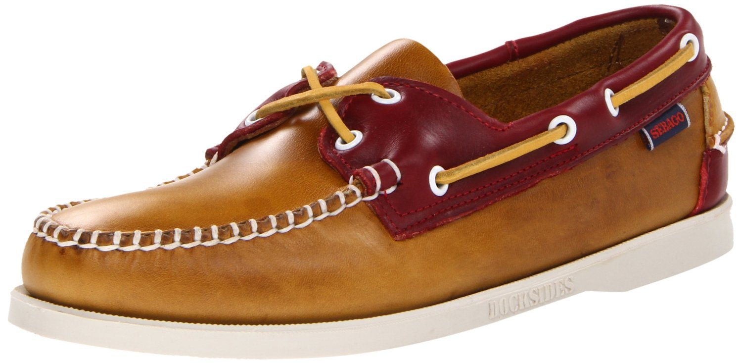 Sebago Men's Horween Spinnaker Boat Shoe