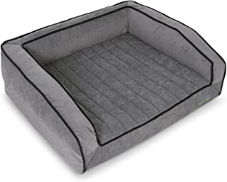product image for BuddyRest, Crown Supreme, Medium Memory Foam dog bed, Cutting Edge True Cool Memory Foam, Scientifically Calibrated To Promote Joint Health, Handmade in the USA, Fathom Gray