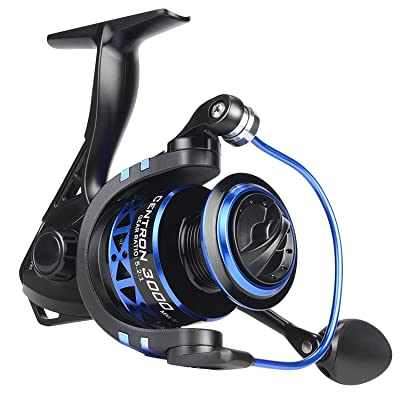 KastKing Summer and Centron Lightweight Ice Fishing Spinning Reels