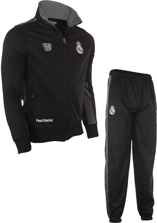 Real Madrid Surv/êtement Training fit Veste Homme Pantalon Collection Officielle