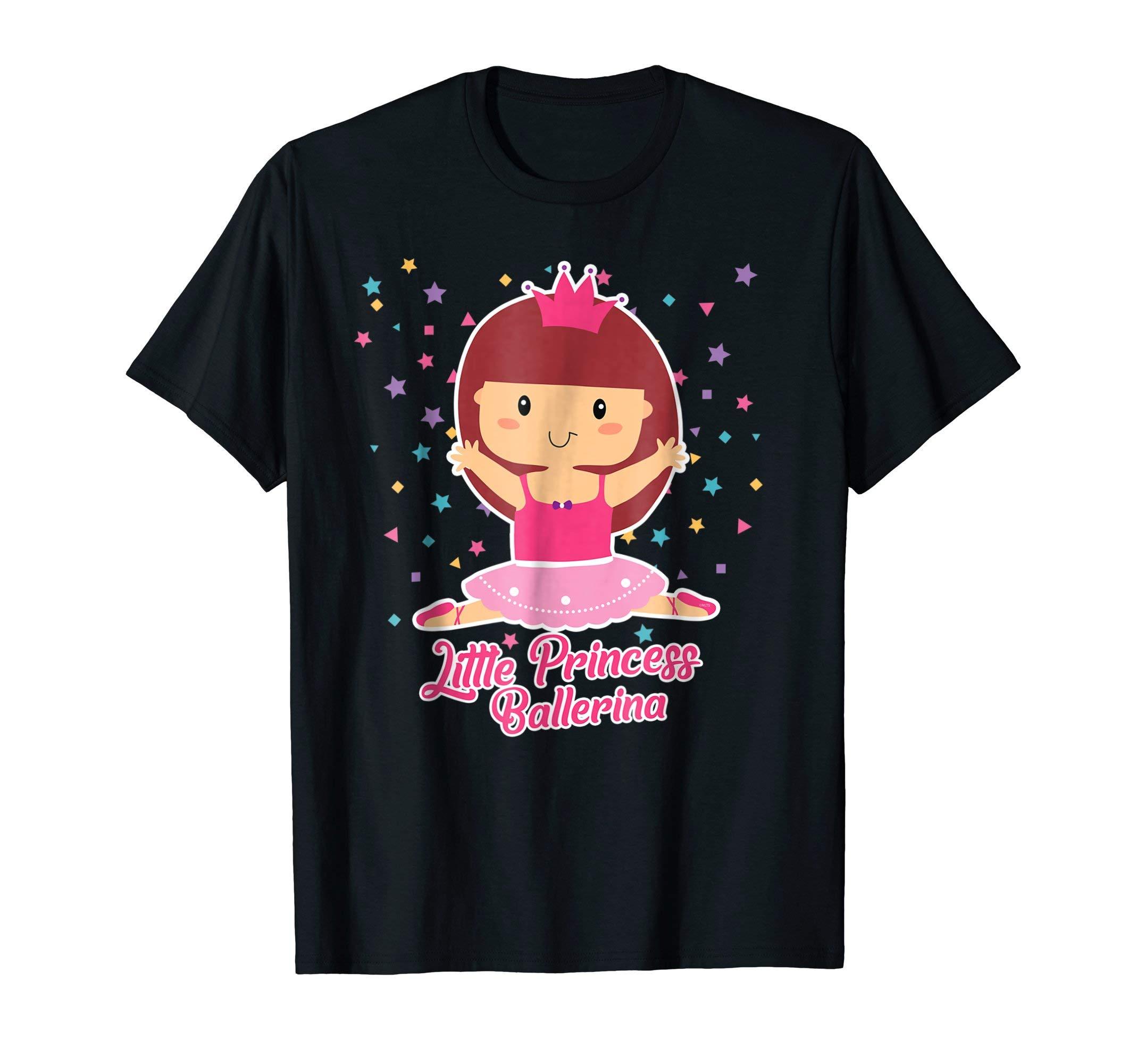 Little-Princess-Ballerina-Shirt-Ballet-Gifts-T-Shirt