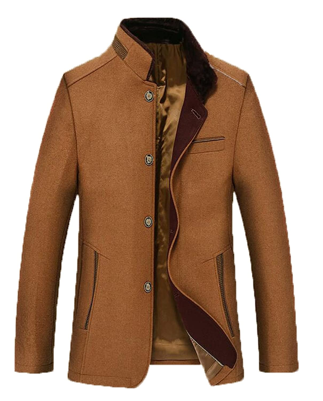 Men's Winter Fashion Woolen Coat XXZTQ