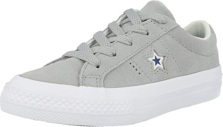 Converse One Star Wolf Grey Suede Child