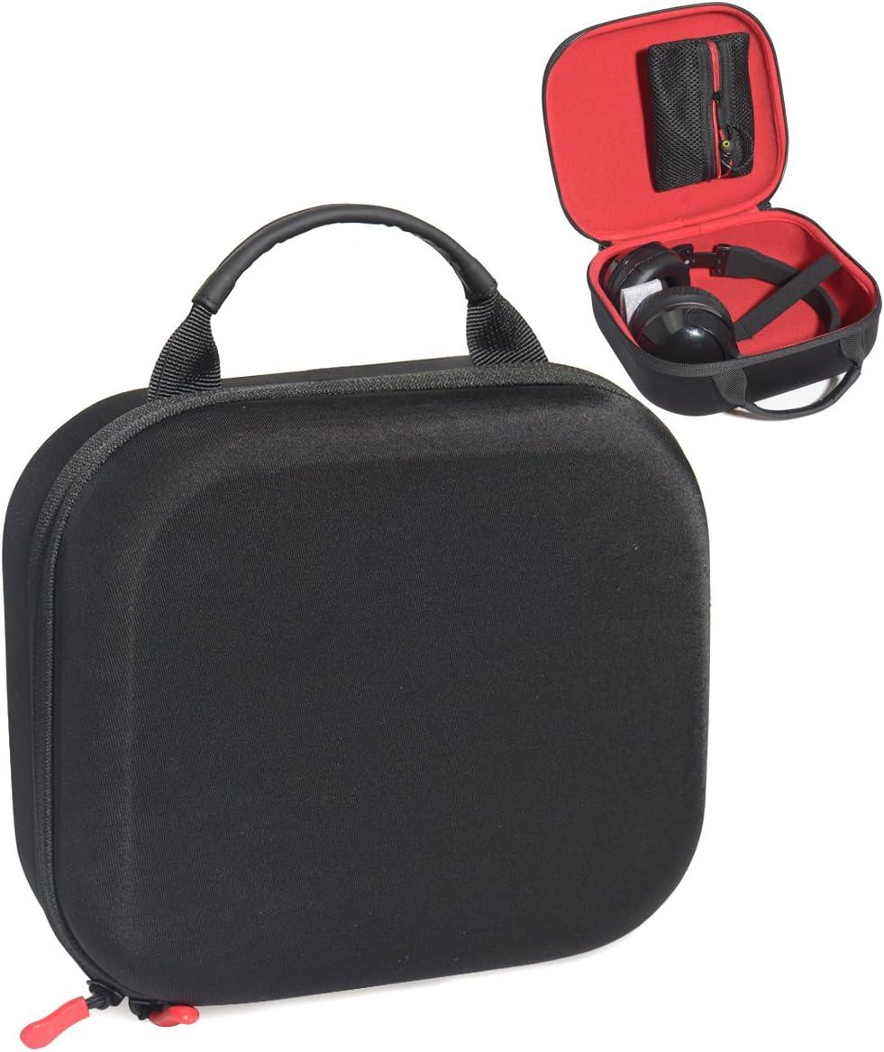 Skullcandy Hesh K240 M50x M20x Uprock HD558; AKG K240STUDIO M30x XB700 Crusher K550; Sony WH-H900N h.Ear Hesh 2//3 Navigator Headphone Case for Sennheiser HD598 M40x M50 XB500; ATH A900