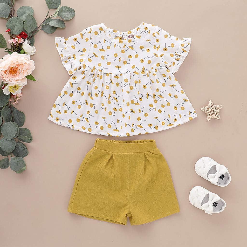Hose Set Kleidung Ver Kinder Baby T-shirt Outfits Oberteile Größe /& Farbe