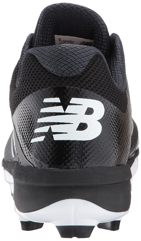 New Men's Balance Men's New PL4040v4 Molded Baseball schuhe, schwarz Weiß, 14 D US 5f51dd