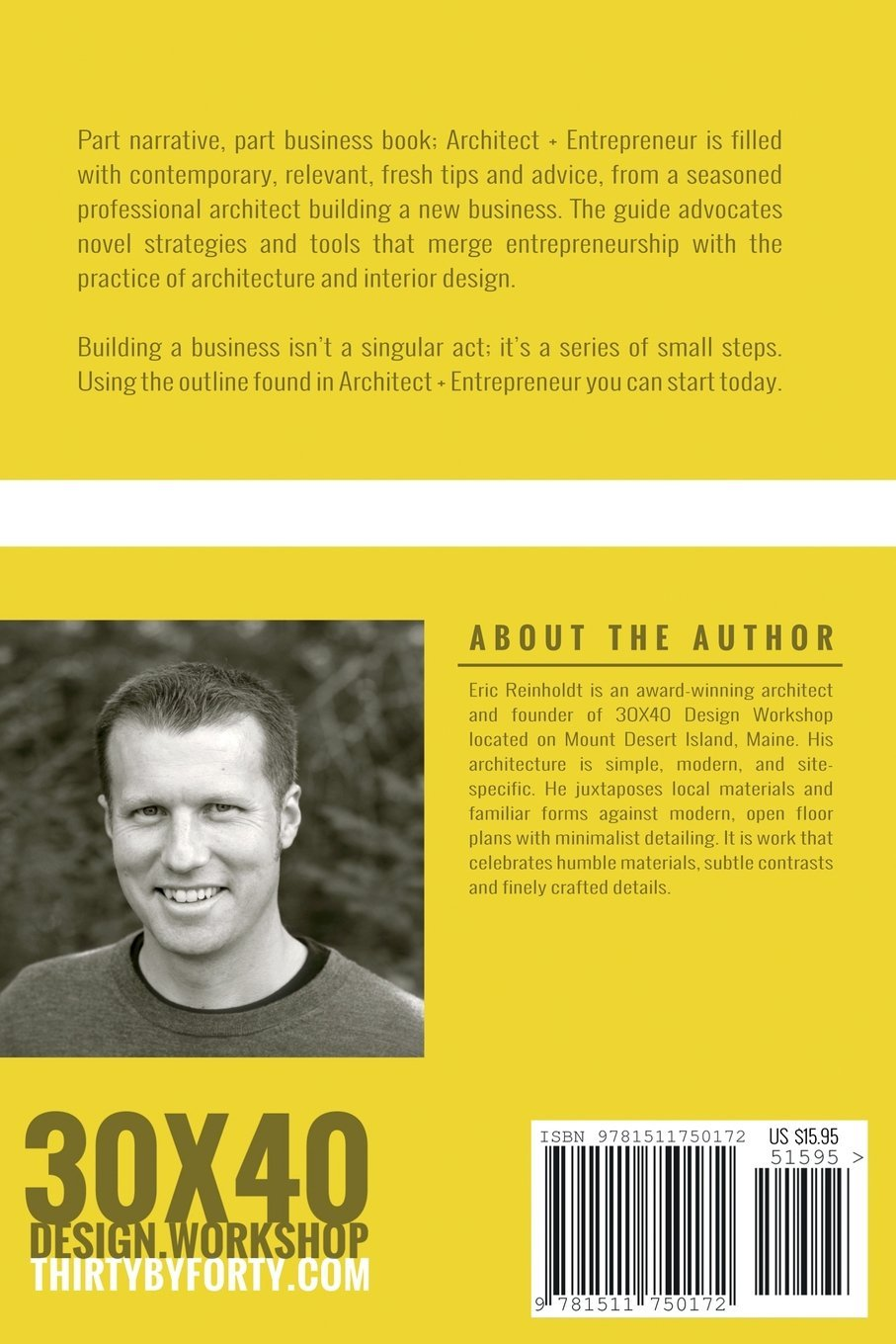 Architect And Entrepreneur A Field Guide To Building Branding And