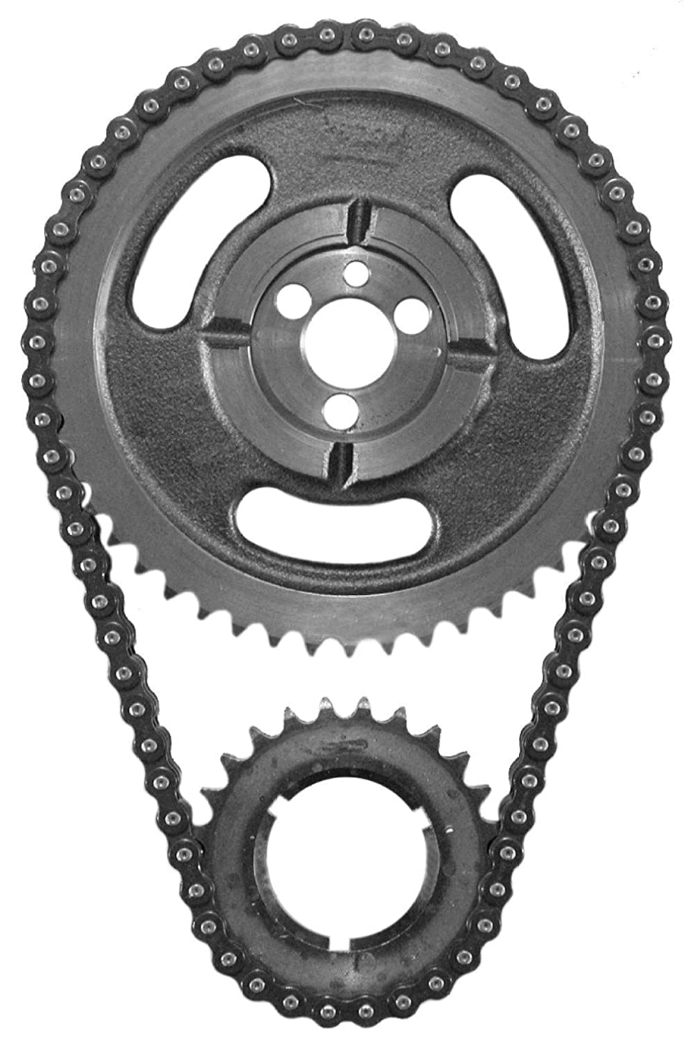 SA Gear 73036-3 BBC Chevy HD Double Row Timing Chain 396 402 427 454 3 Keyway