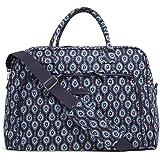 Vera Bradley Luggage Women's Weekender Marrakesh Motifs Duffel Bag