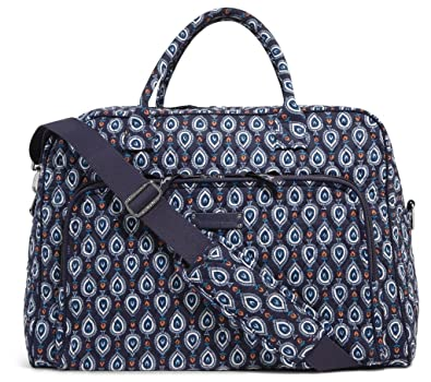 Image Unavailable. Image not available for. Color  Vera Bradley Luggage  Women s Weekender Marrakesh ... a0dec4defc2c3