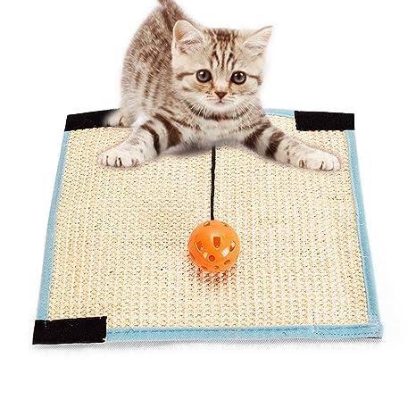 Amazon.com: MQUPIN Scratcher Juguete para gatos, gato ...