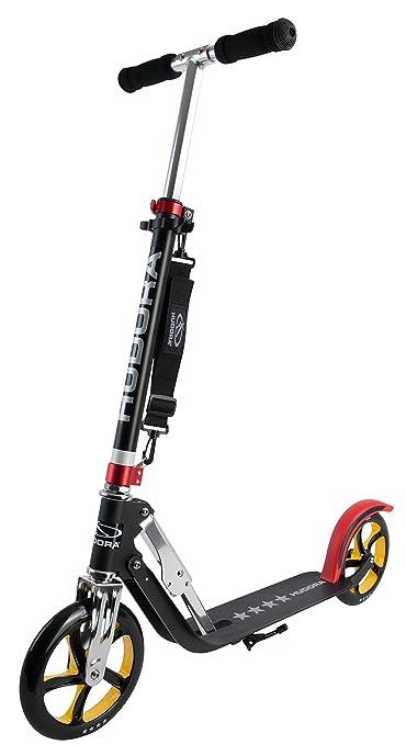 496 opinioni per Hudora 14759 Monopattino Big Wheel RX Pro 205, nero/rosso/oro