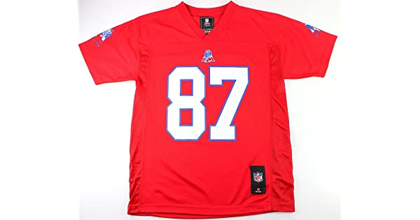 2b2191a87 Outerstuff Rob Gronkowski New England Patriots #87 NFL Youth Mid-Tier  Alternate Jersey Red