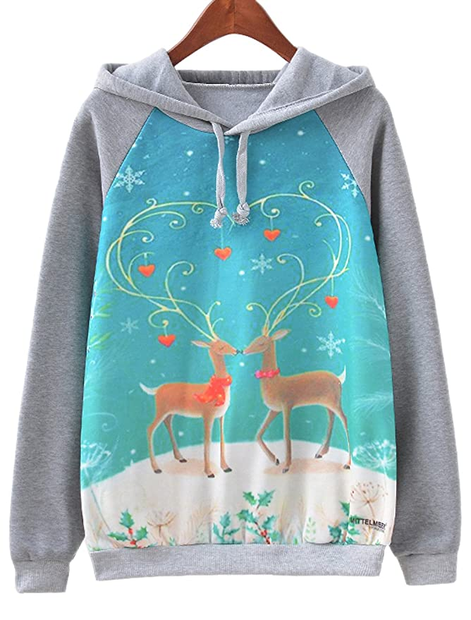 Christmas Reindeer Hoodie