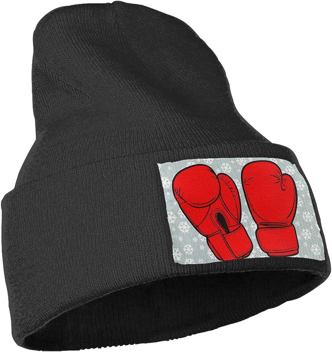I Love Boxing Men Women Knitting Wool Warm Running Beanie Hats