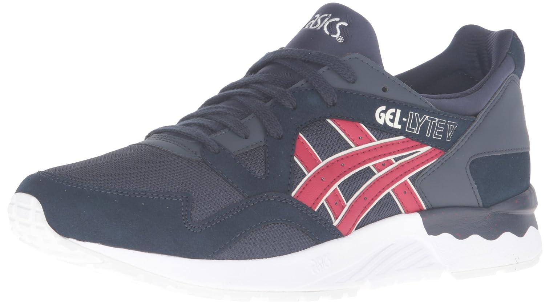 ASICS Men's Gel-Lyte V Fashion Sneaker B019Q6QIUO 7 D(M) US|India Ink/Burgundy