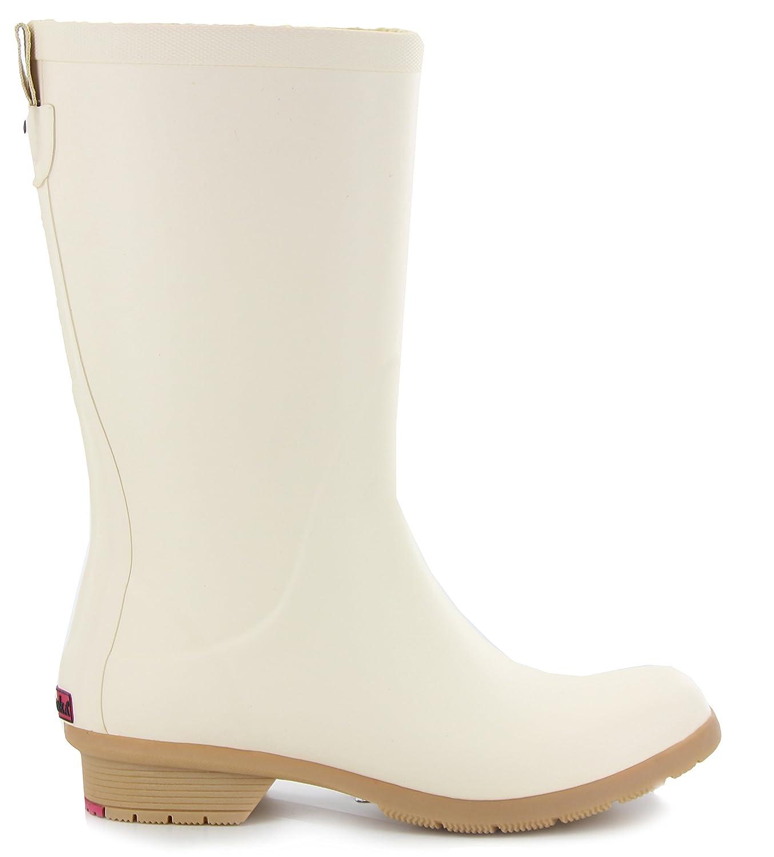 Chooka Bainbridge Fleece Lined Rain Boot B01N7H6ZS3 8 B(M) US|Ivory
