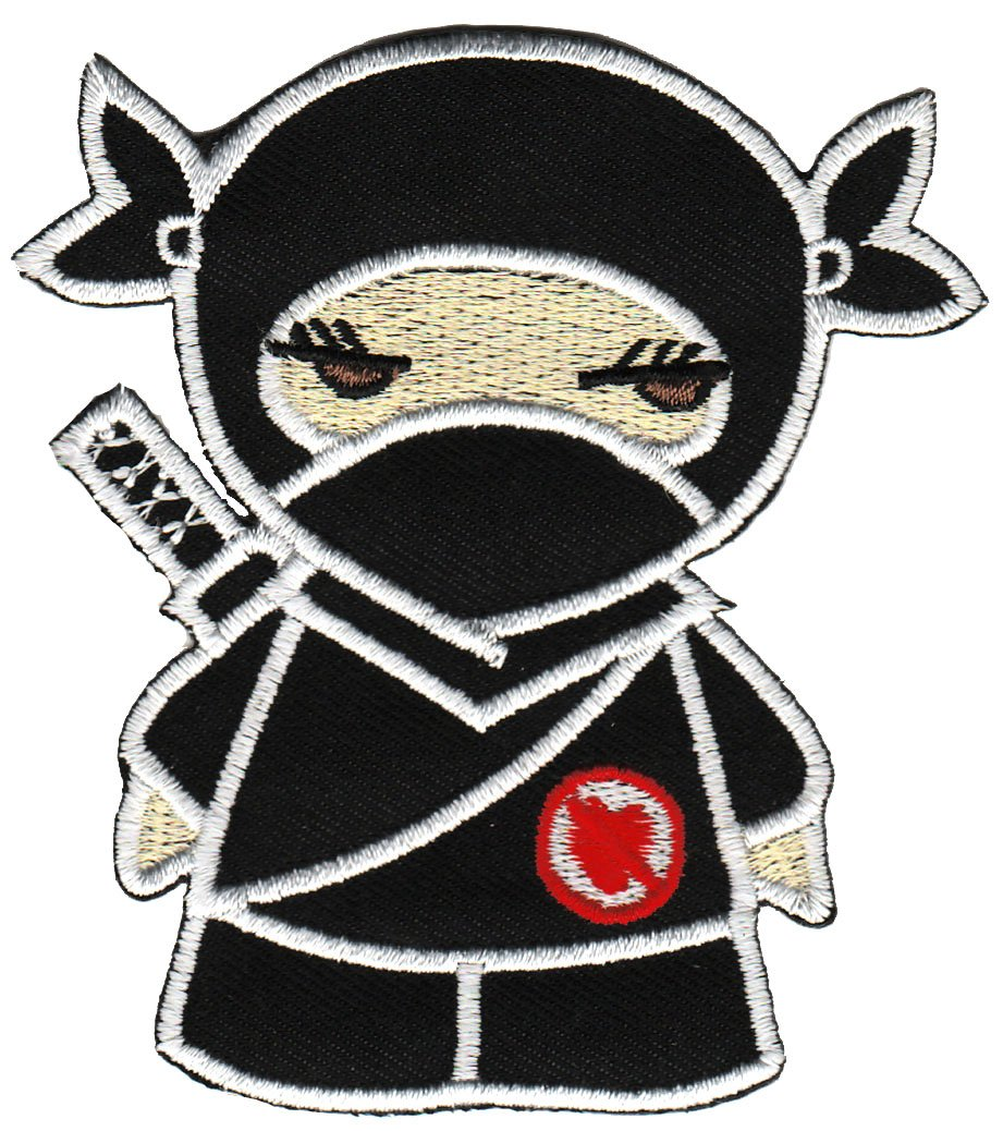 Des combattants ninja fighter /écusson b/ügelbild patch iron on patchs application