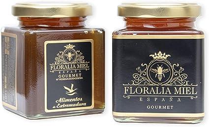 Miel Cruda de Flores Gourmet. 300gr. Floralia Miel. España.: Amazon.es: Alimentación y bebidas