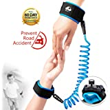 Anti Lost Wrist Link With Lock Toddler Leash Toddler Safety Harness Child Baby Kid Strap Leash, Blue