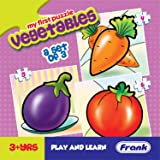 Frank  Vegetables Puzzle For 3 Year Old Kids And Above