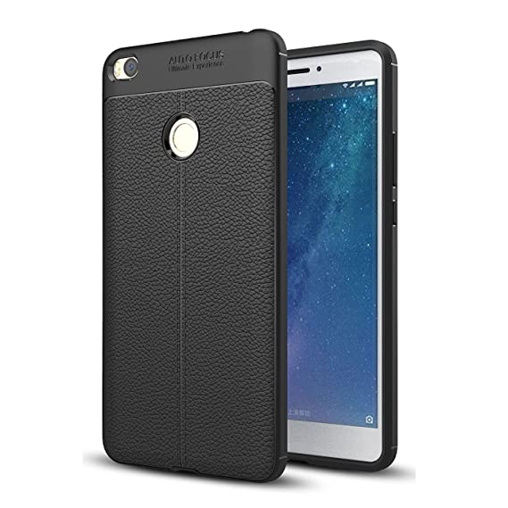 new style 0e5cd 9d665 Xiaomi Mi Max 2 Case,Xiaomi Mi Max 2 Faux Leather Case, Soft Case Anti-Slip  TPU Cover for 6.44'' Xiaomi Mi Max 2 [NOT fit Xiaomi Mi Max]