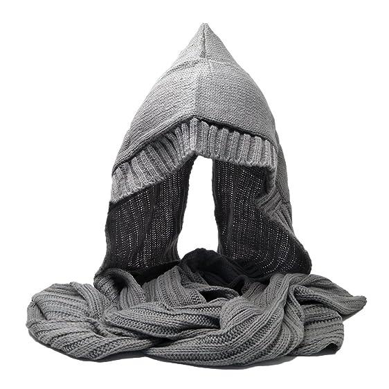 Tangtown Special Winter Warm Hood Scarf Headscarf Stylish Knit Snow