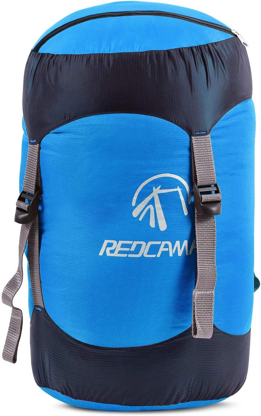 randonn/ée Sac de Compression Compact l/éger pour Camping Voyage REDCAMP Redamp 15//25//35 L Sac de Compression en Nylon pour Sac de Couchage Jaune