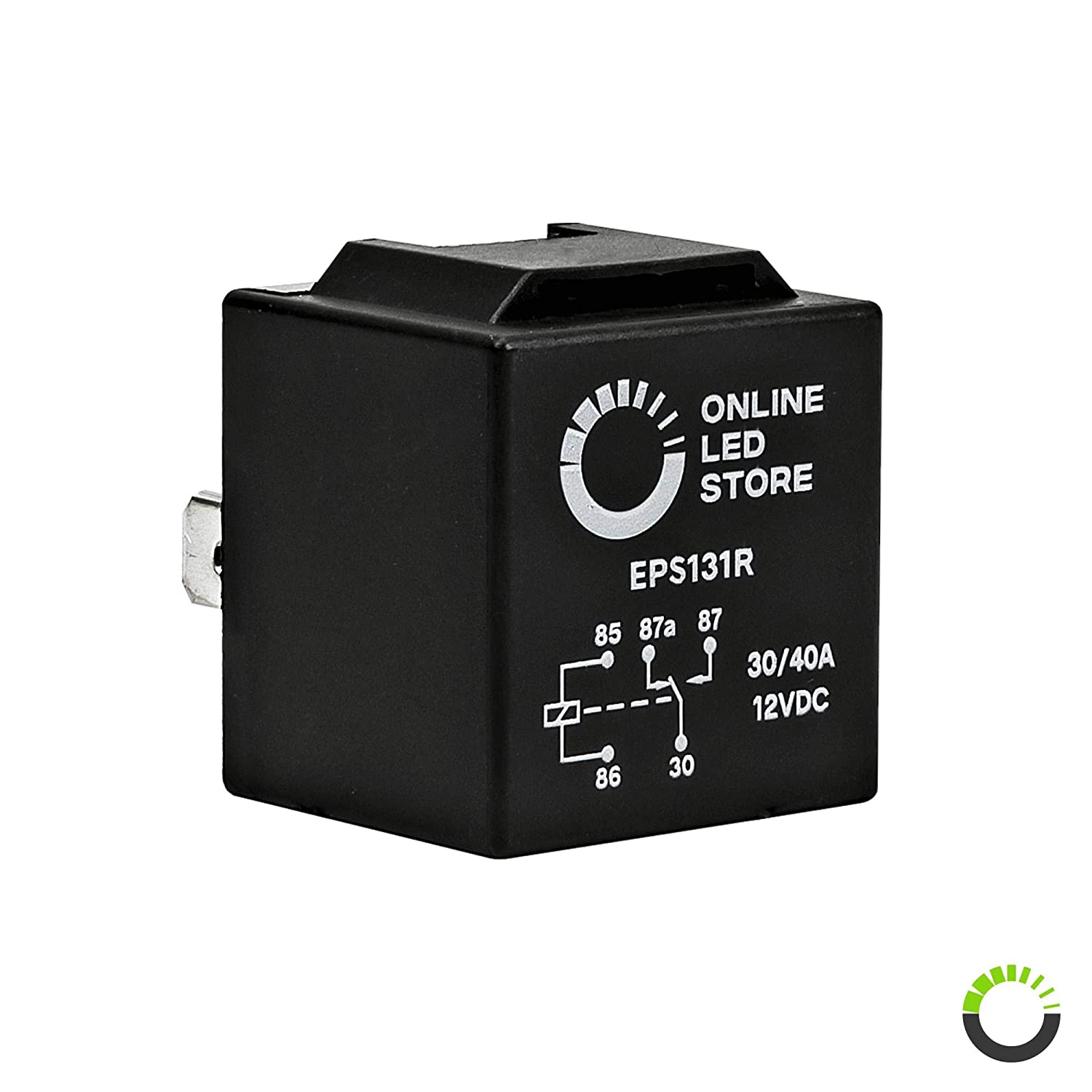 12V 30//40 Amp 5-Pin SPDT Bosch Style Electrical Relays ONLINE LED STORE 10 Pack