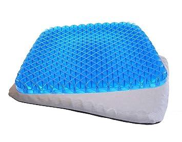 Cojín ortopédico de gel para sentarse - Postura Saludable Y Alivia El Dolor para alivio de
