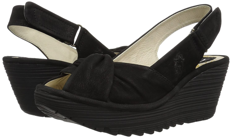 4a62cdb18a Amazon.com   FLY London Women's Yata820fly Wedge Sandal   Platforms & Wedges