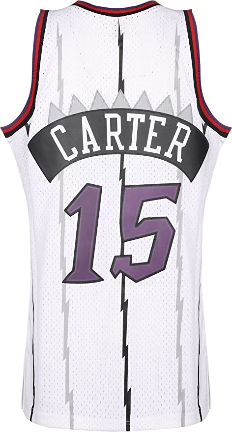 Mitchell & Ness Toronto Raptors Vince Carter Camiseta sin Mangas White: Amazon.es: Ropa y accesorios