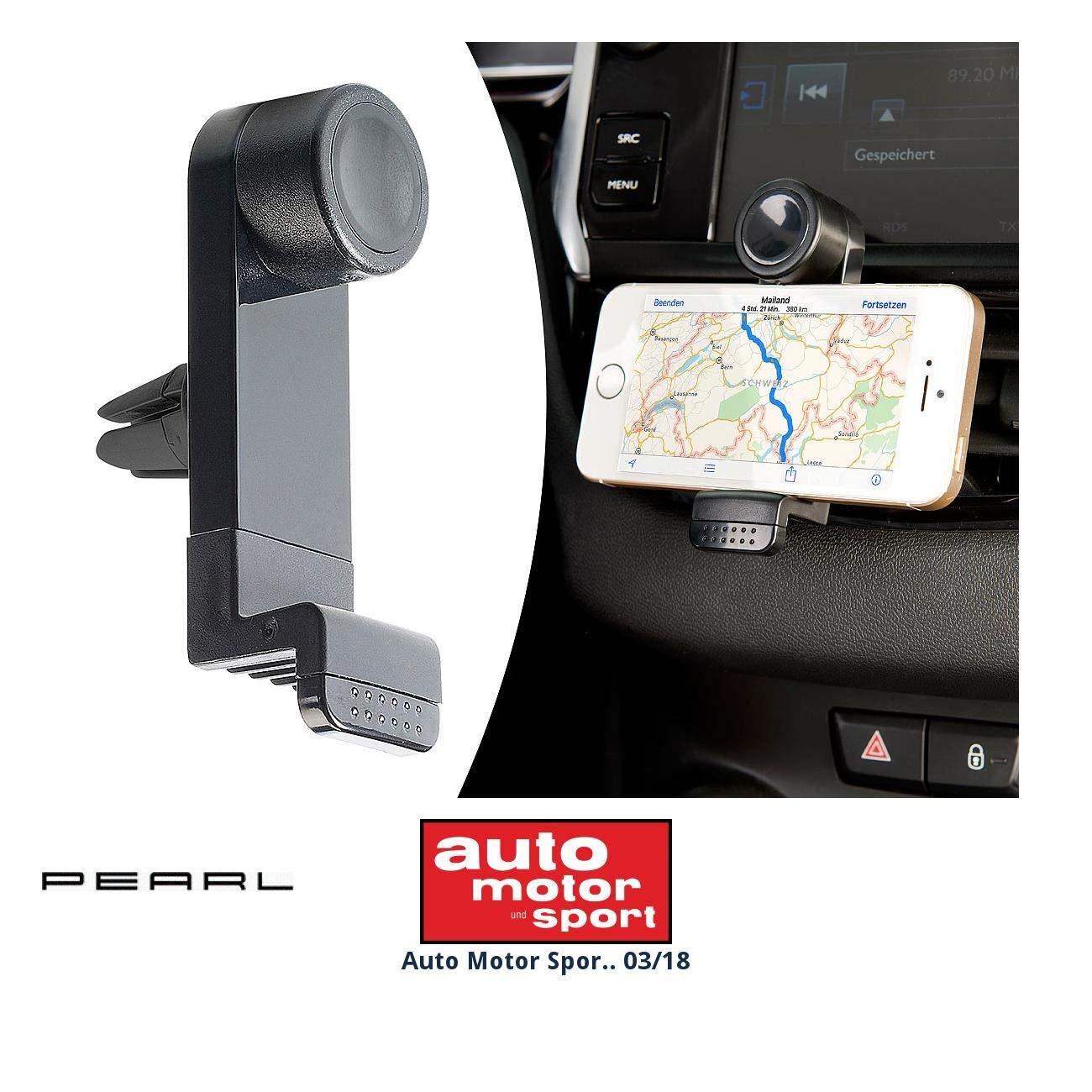 Support universel de smartphone pour grille de ventilation Pearl SD2102-675