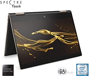 HP Spectre Touch x360 13t-ae00 Ash/Gold Convertible 8th Gen Quad Core Intel i7 up to 4.0GHz 16GB 512GB SSD 13.3in FHD Gorilla Glass (Renewed)