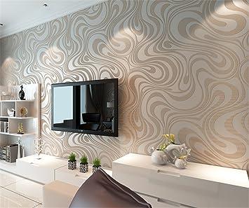 Moderne Minimalist Abstrakt Kurven Glitzer Vliestapete 3D Tapete Beflockung  Wallcoverings Für Schlafzimmer Wohnzimmer TV Hintergrund