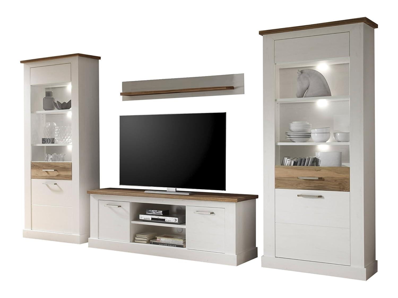 trendteam Wohnzimmer 4-Teilige Set Kombination Toronto, 340 x 210 x ...