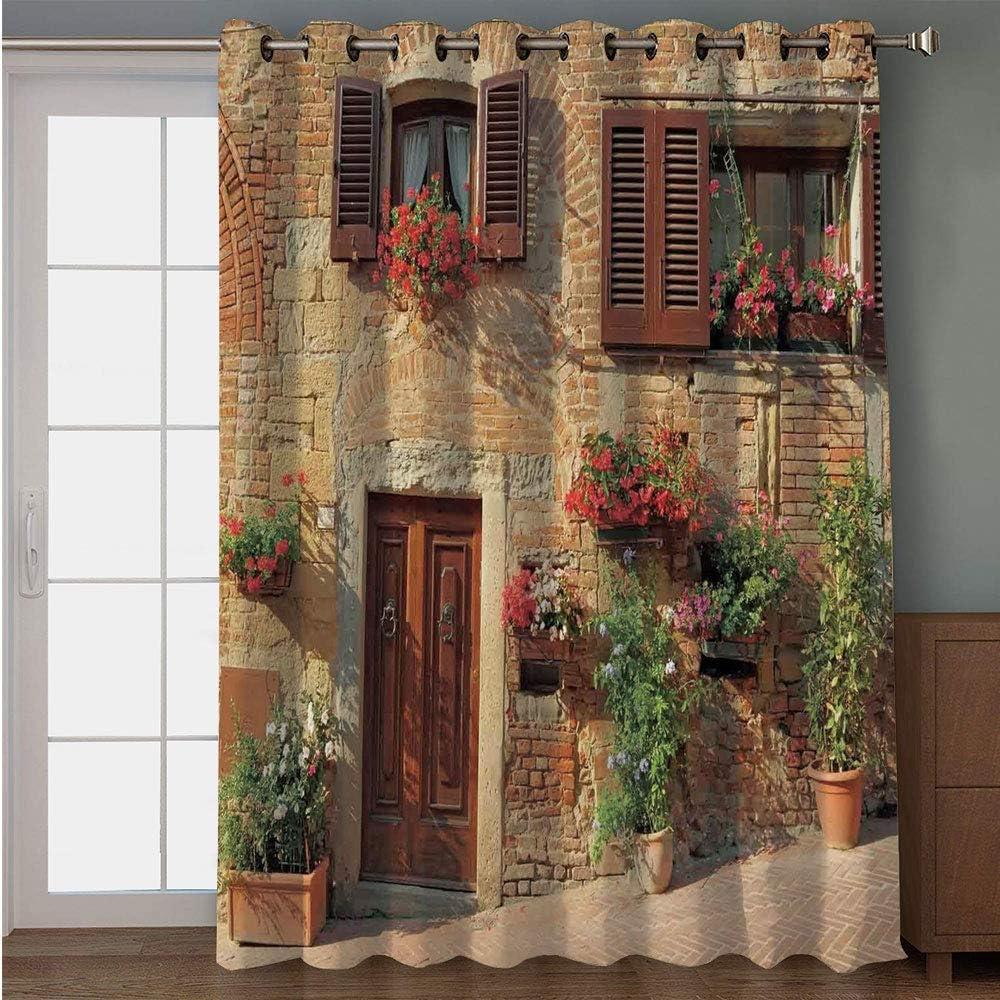 iPrint cortina opaca para puerta de patio, abstracta, abstracta ...