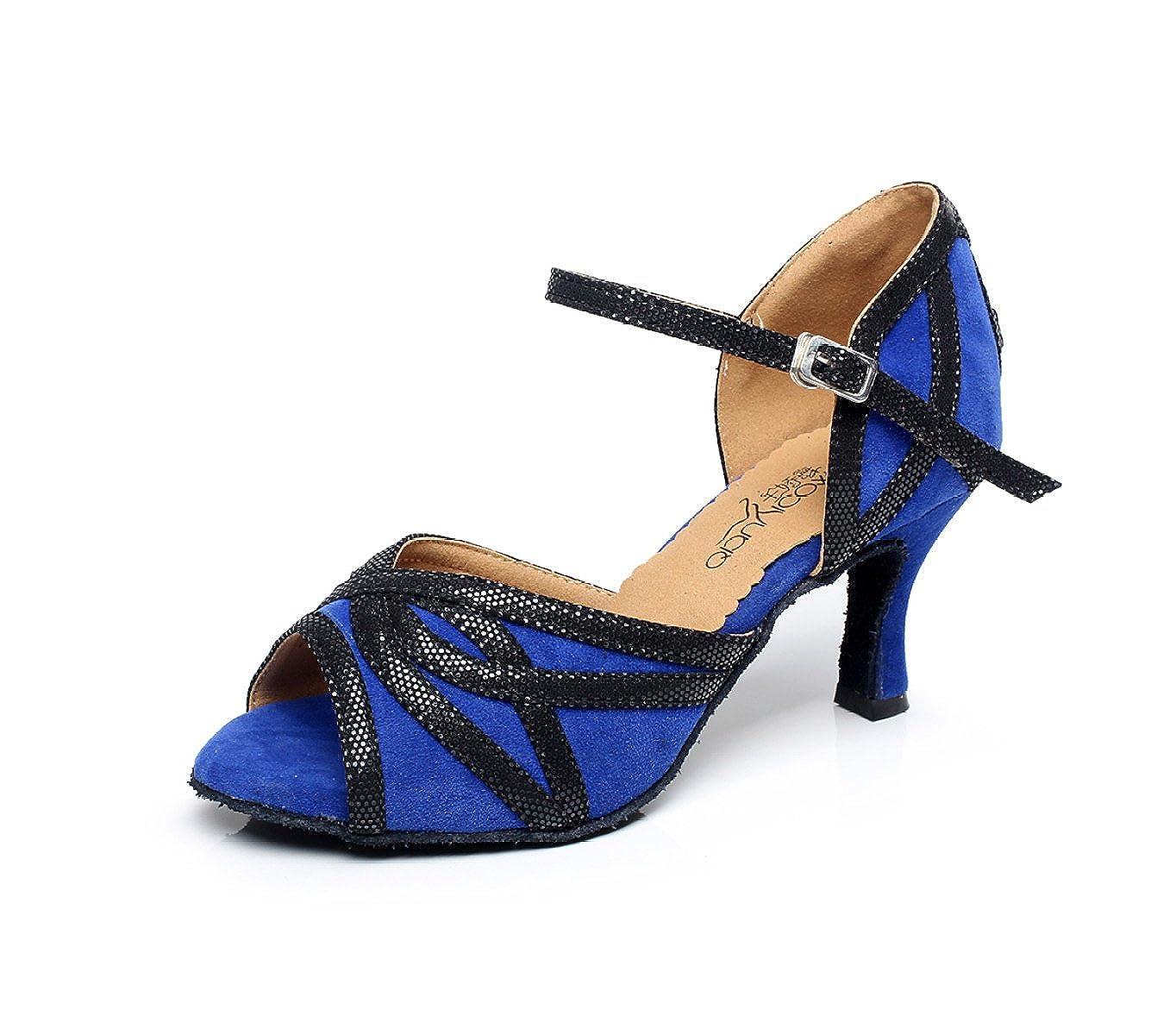 JSHOE Latin Cristaux Danse De Femmes étincelant Satin B07255KPXV Latin Salsa Chaussures De Danse Tango/Thé/Samba/Moderne/Jazz Chaussures Sandales Talons Hauts,Blue-heeled8.5cm-UK5.5/EU38/Our39 - 7d564a6 - shopssong.space