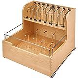 Rev-A-Shelf Food Storage Container Organizer Soft Close Natural