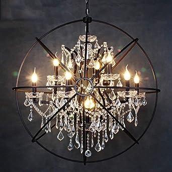 große beleuchtungskörper led qaz pendelleuchte lampe kronleuchter restaurant cafe bar retro global kerze anhänger kristall vogelkäfig e14 lampenfassung